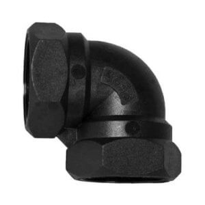 Poly FF Threaded Elbow